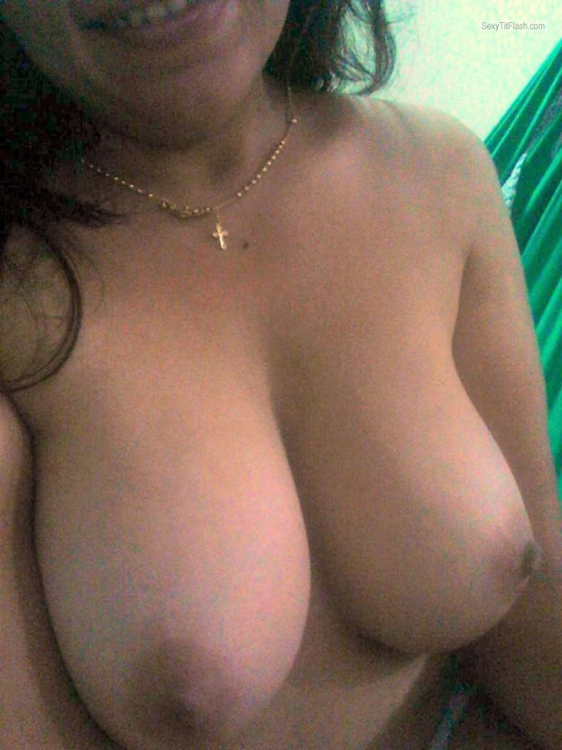 Very big Tits Of A Friend Selfie by Morena