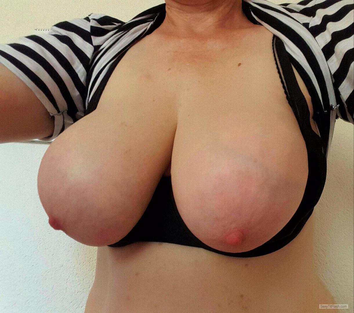My Very big Tits Selfie by Toplesd
