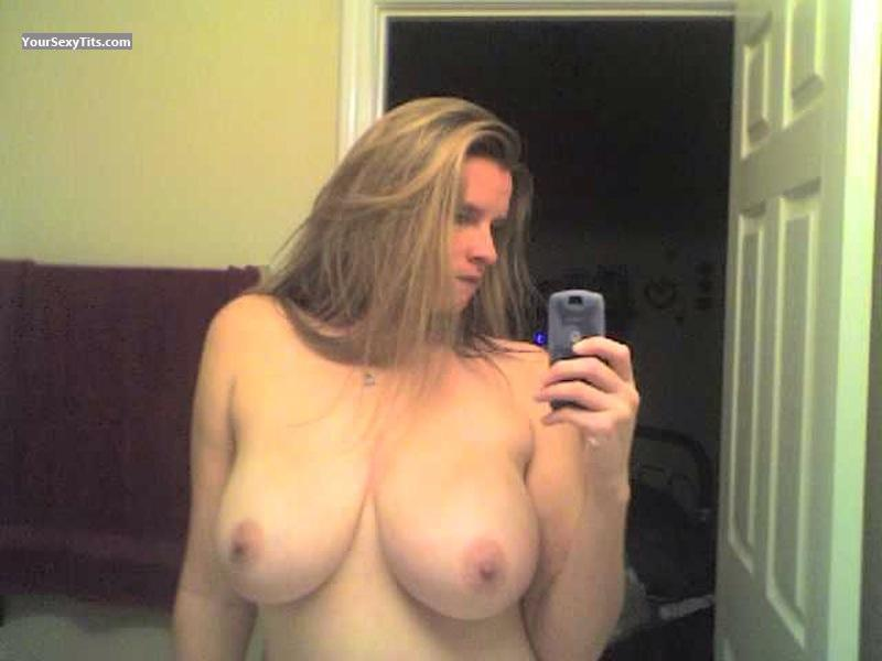 My Very big Tits Topless Selfie by Starfish32