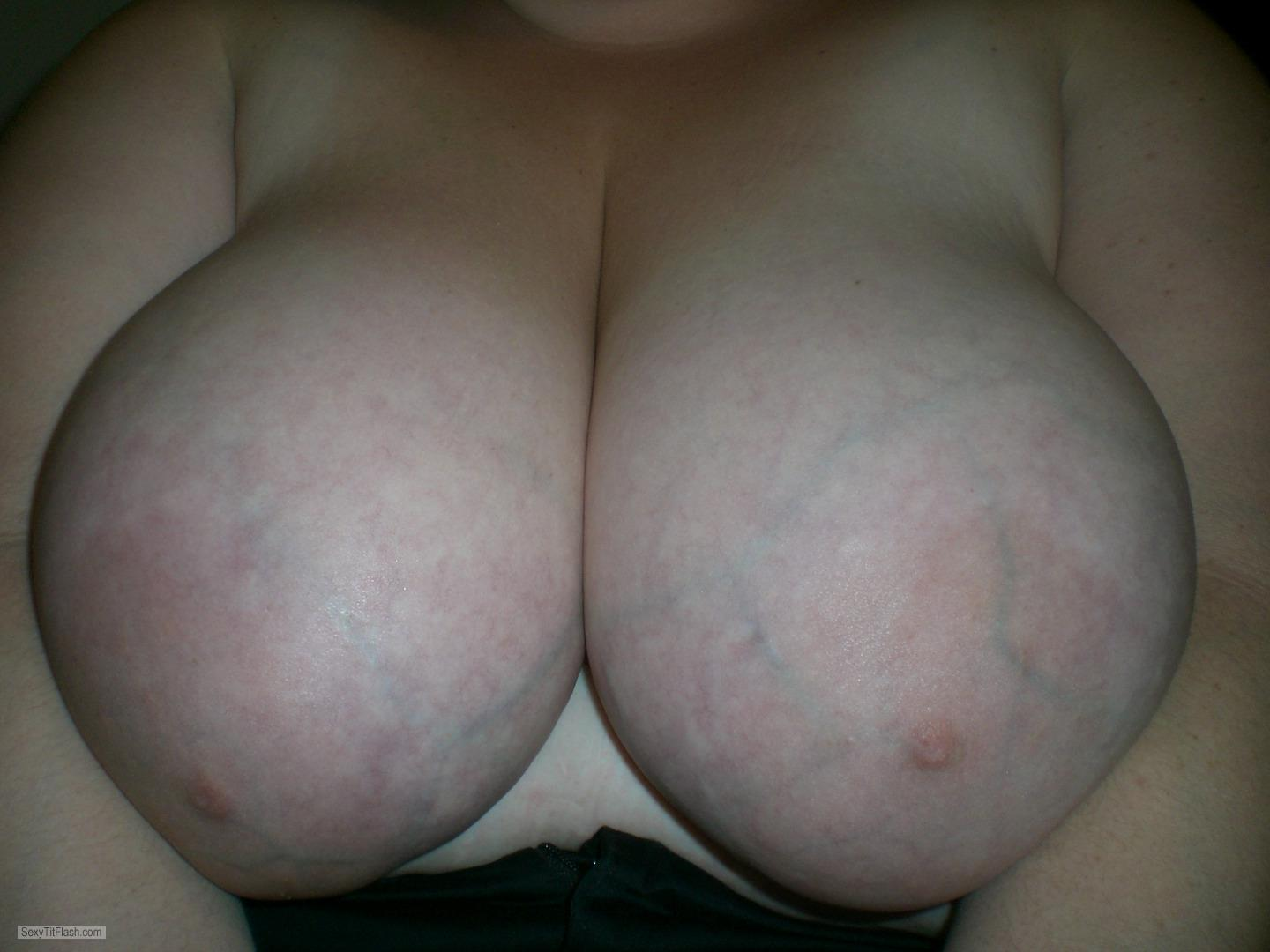 Tit Flash: My Very Big Tits (Selfie) - Banana Valley from United States