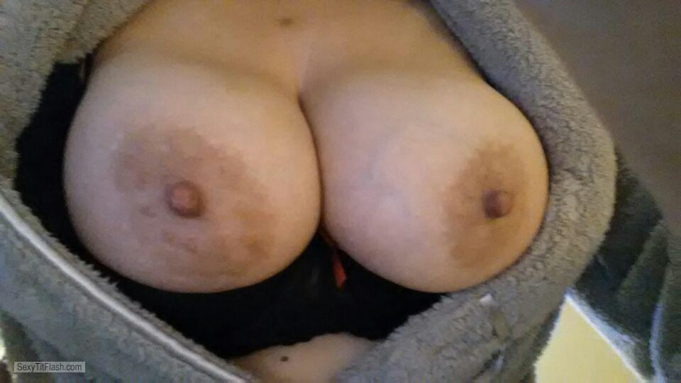Very big Tits Of My Wife Selfie by Jules
