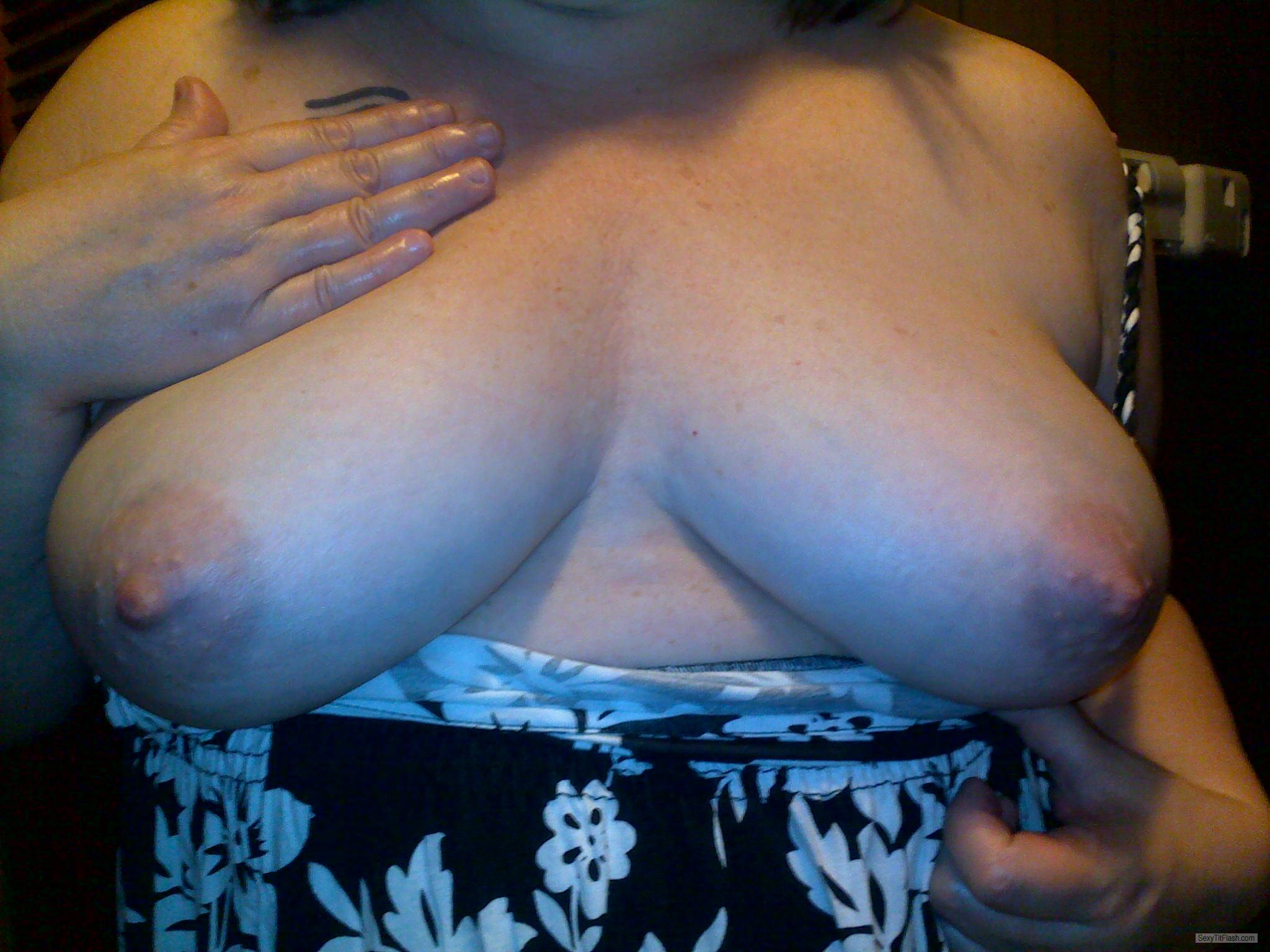 Tit Flash: My Very Big Tits - Jeanie In A Bottle from United States