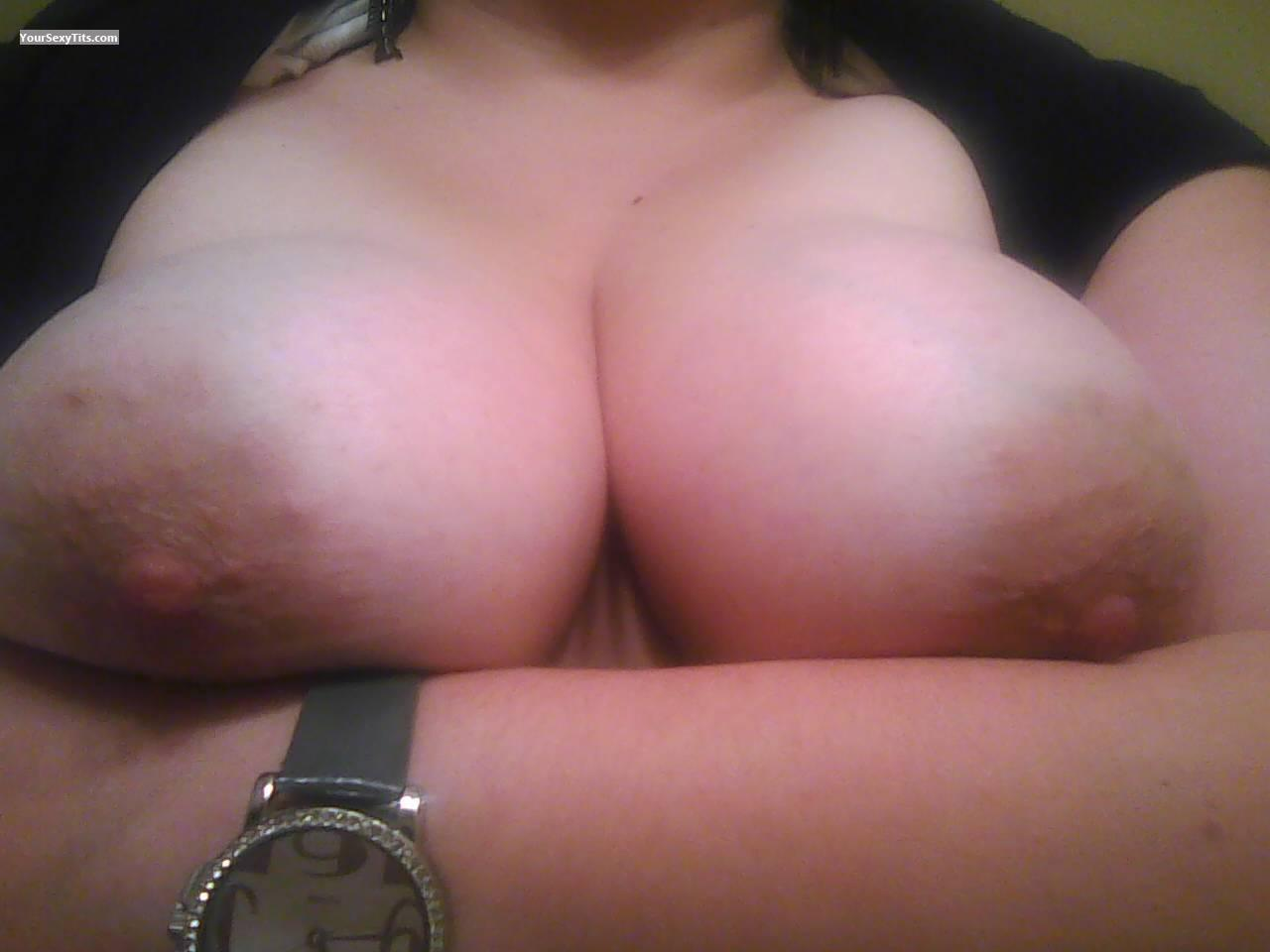 My Very big Tits Selfie by Areola