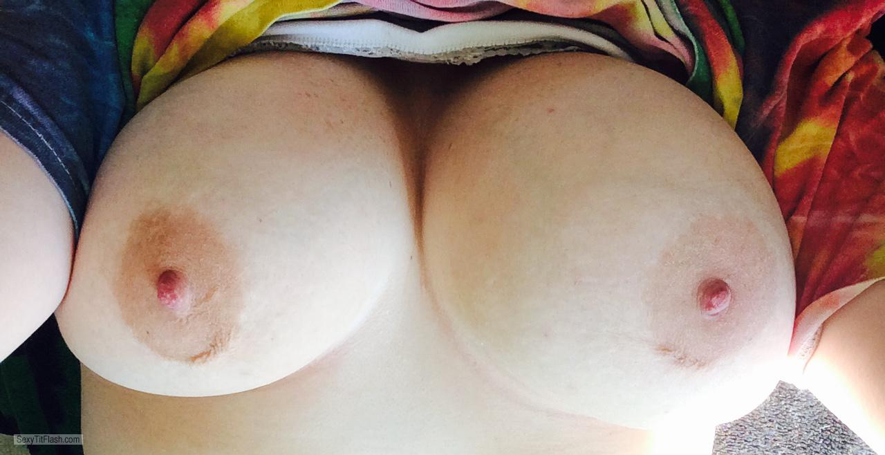 Tit Flash: My Very Big Tits - Puffin420 from United States