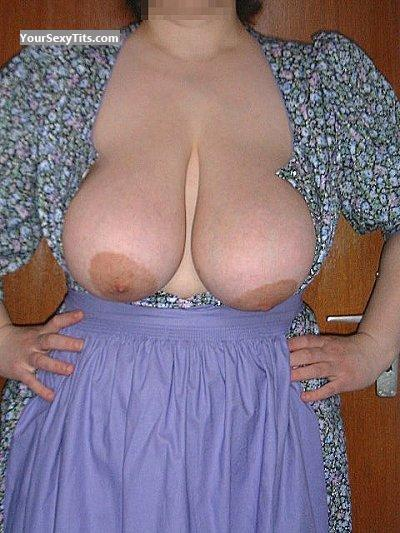 Tit Flash: Very Big Tits - Claudia From Munich from Germany