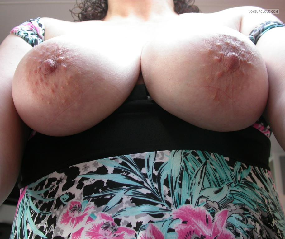 Tit Flash: My Medium Tits (Selfie) - Curvy-lick-ious from Australia
