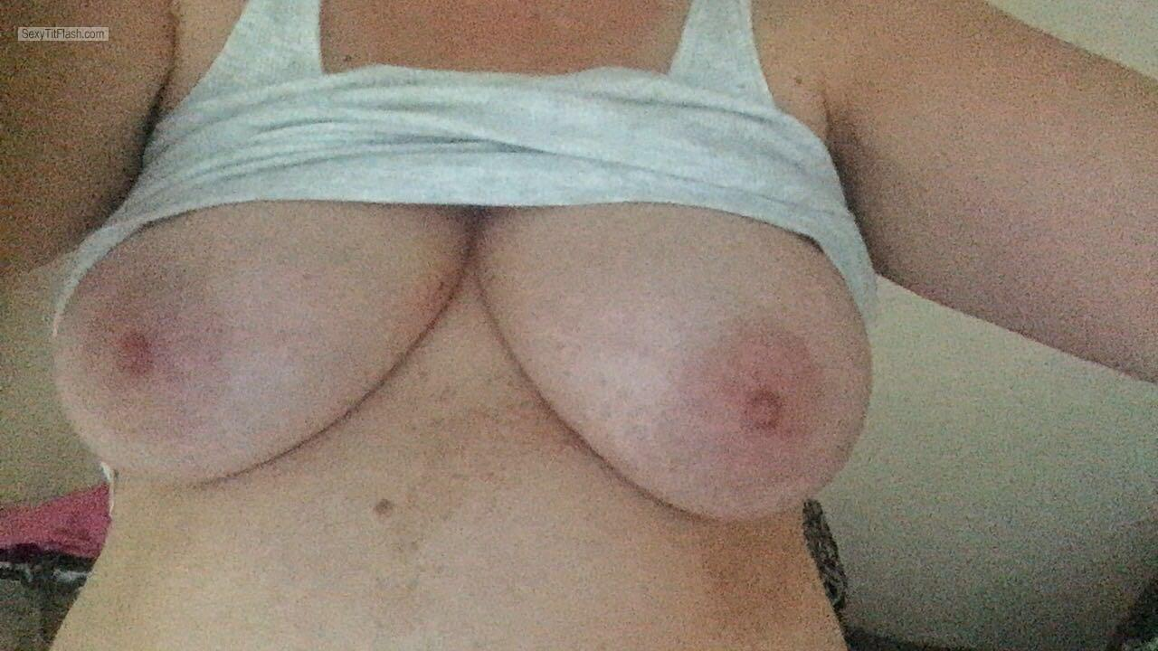 My Very big Tits Selfie by Sexy Becky