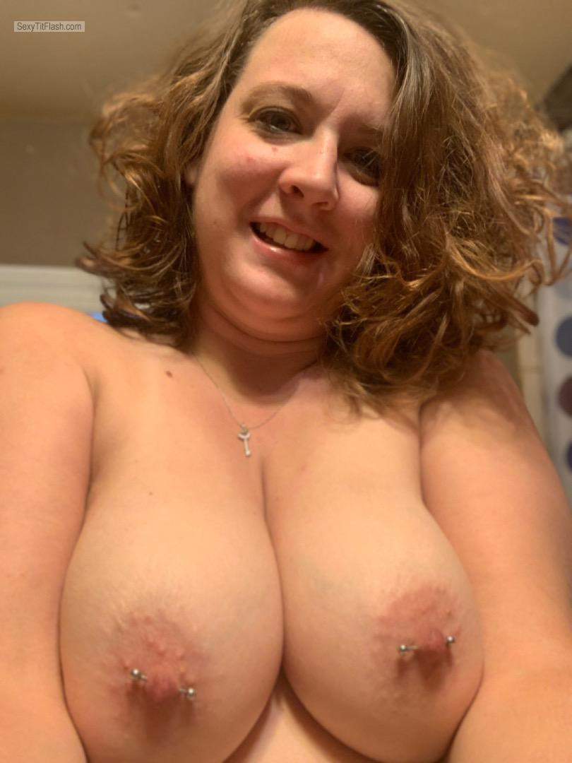 My Very big Tits Topless Selfie by Just Tits