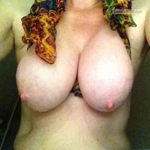 Tit Flash: My Big Tits (Selfie) - Sunny from United States
