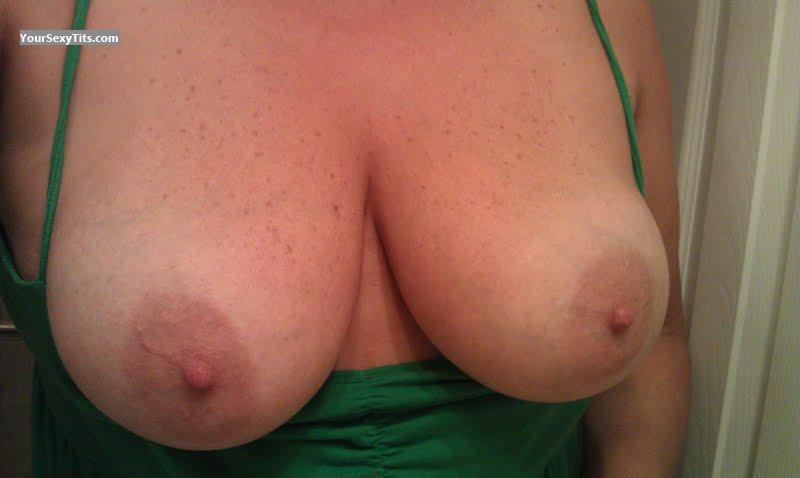 Tit Flash: My Very Big Tits (Selfie) - Kay from United States