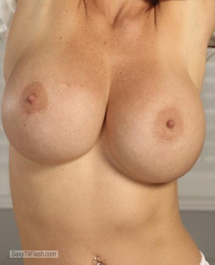 Tit Flash: Girlfriend's Very Big Tits - Upbeyond65 from United Kingdom