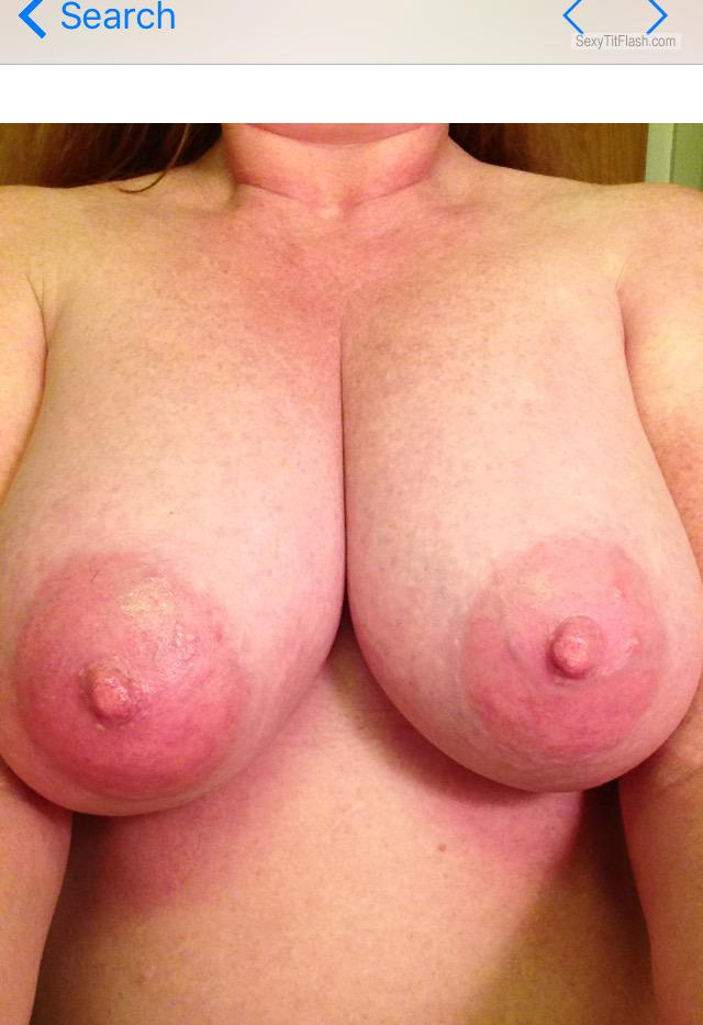 Tit Flash: My Very Big Tits (Selfie) - Ann from United States