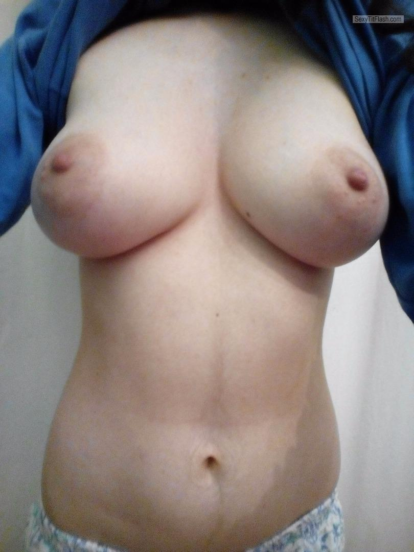 My Very big Tits Topless Selfie by Hotsammy