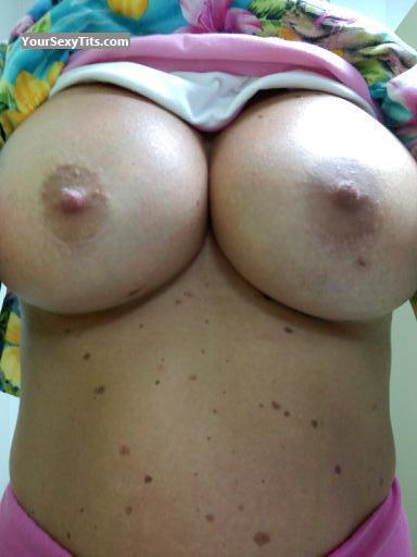 Tit Flash: My Very Big Tits (Selfie) - Hook from United States