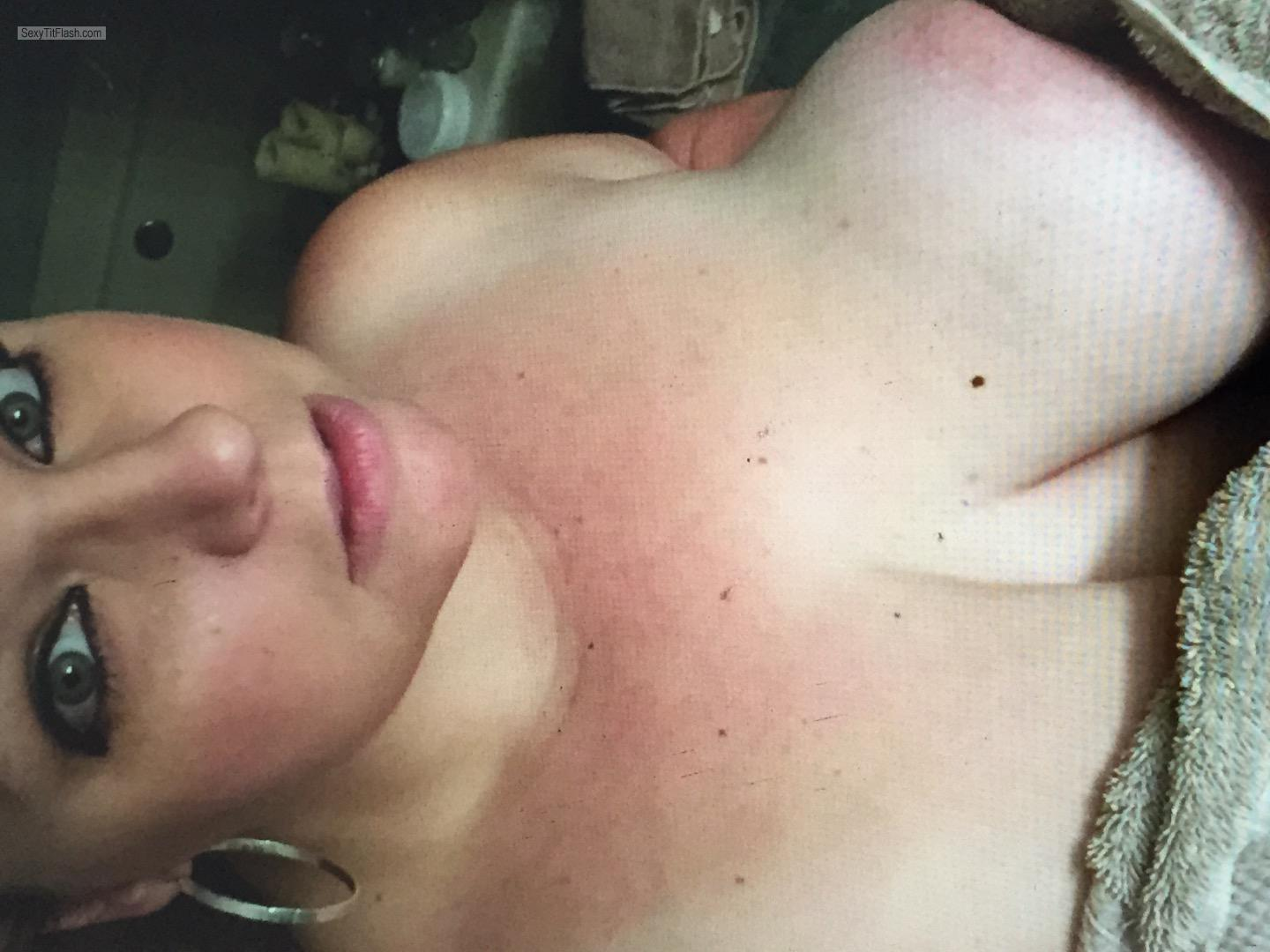 My Very big Tits Topless Cammie