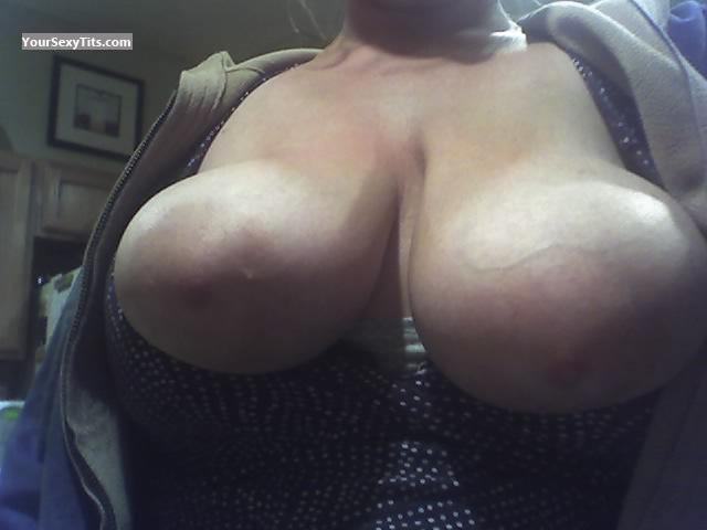 Tit Flash: My Very Big Tits (Selfie) - NAUGHTY GIRL from United States