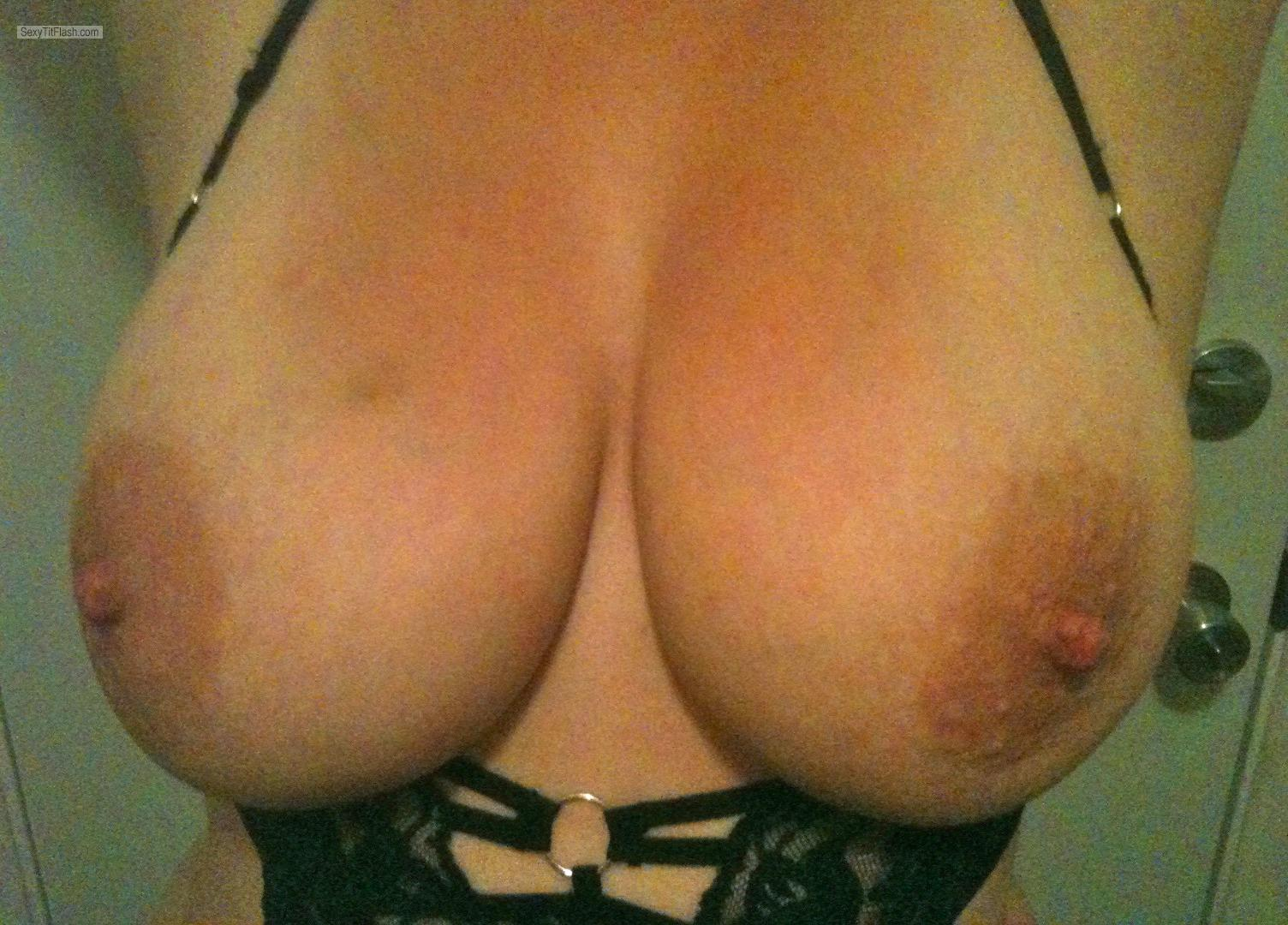 Tit Flash: My Big Tits - Bigtitsfuckya from United States