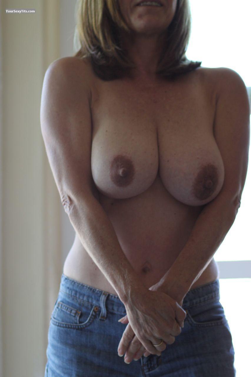 Darlene cambell shows her boobs her tits