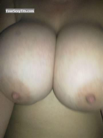 Tit Flash: Wife's Very Big Tits (Selfie) - Sexylady from United States