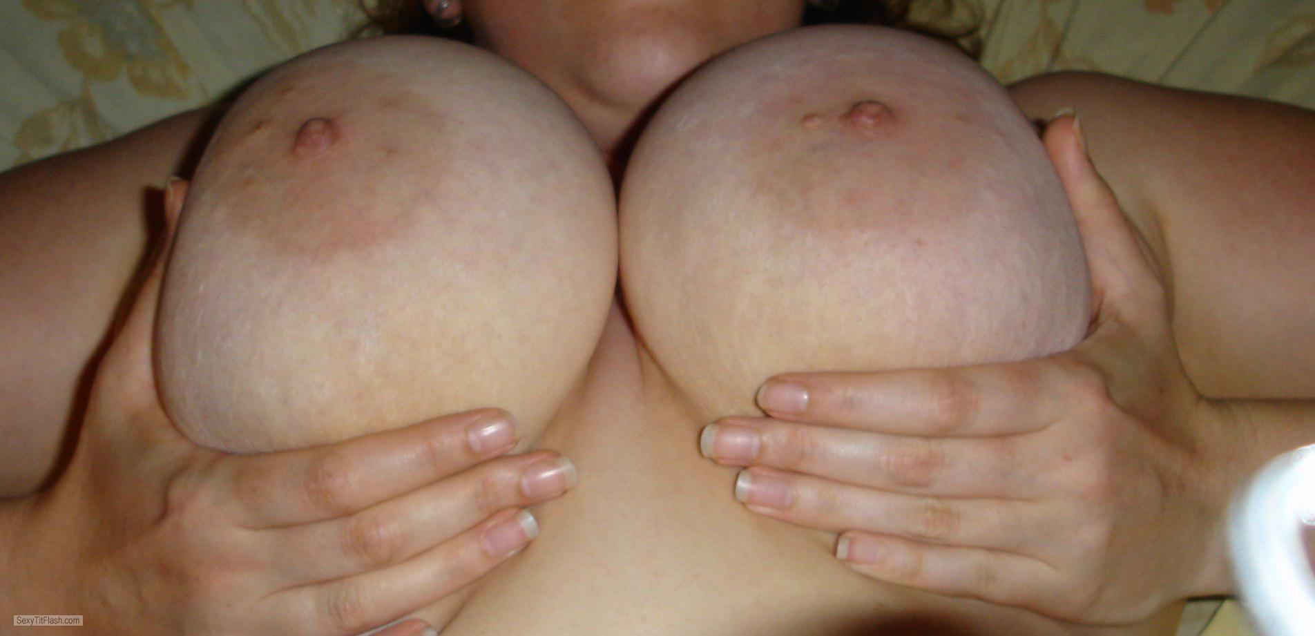 Very big Tits Of My Wife Big Tit Wife