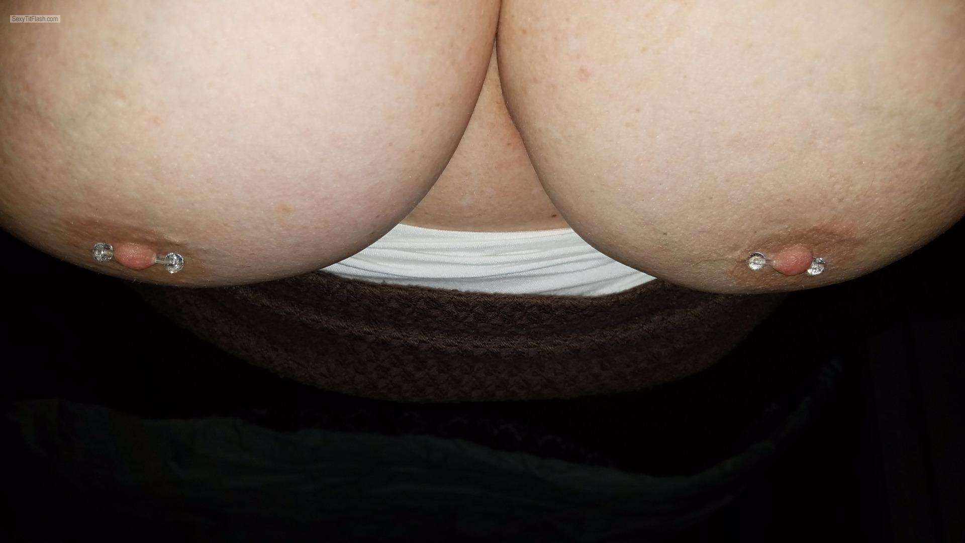 My Very big Tits Selfie by Northern Nips