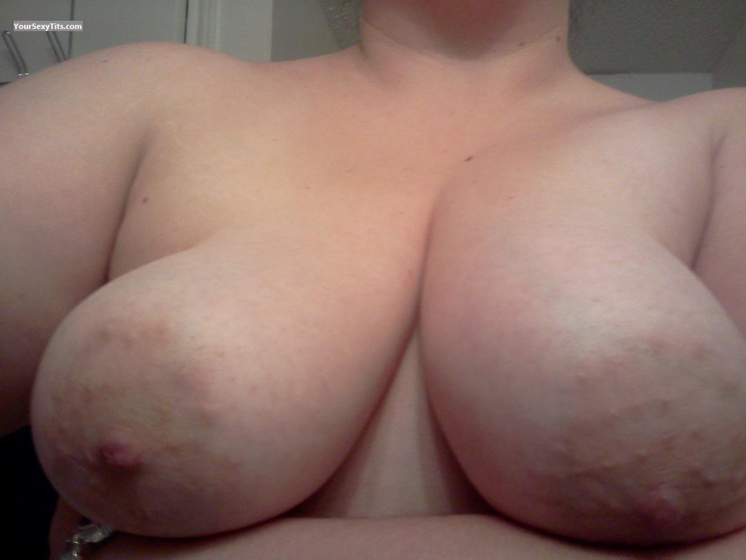 Very big Tits Of My Wife Selfie by Areola