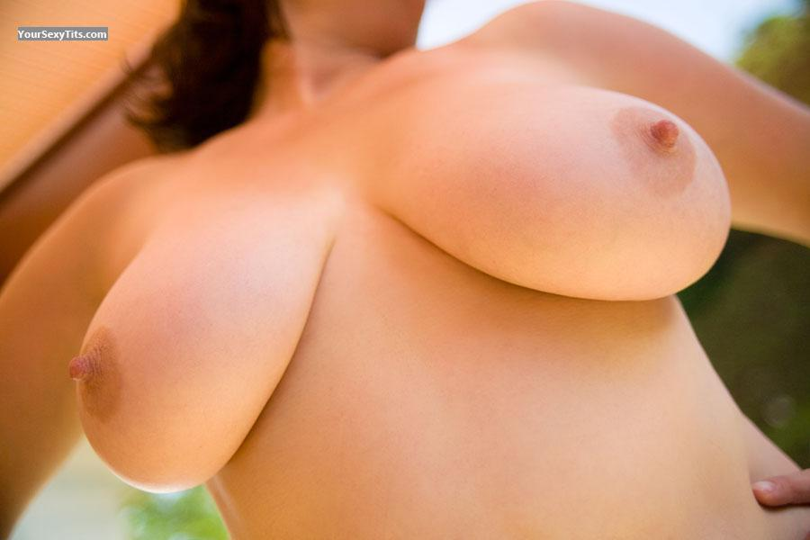 Tit Flash: Very Big Tits - CJ from United Kingdom
