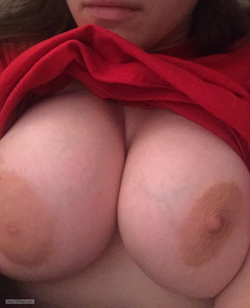 My Very big Tits Selfie by Belle Of The Boobs