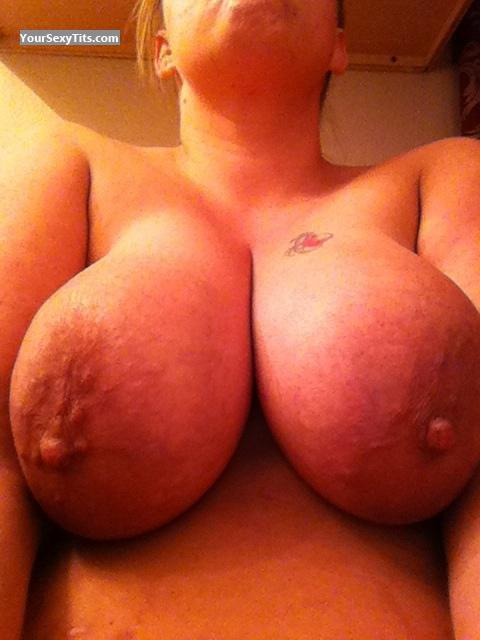 Very big Tits Of My Wife Selfie by Hello