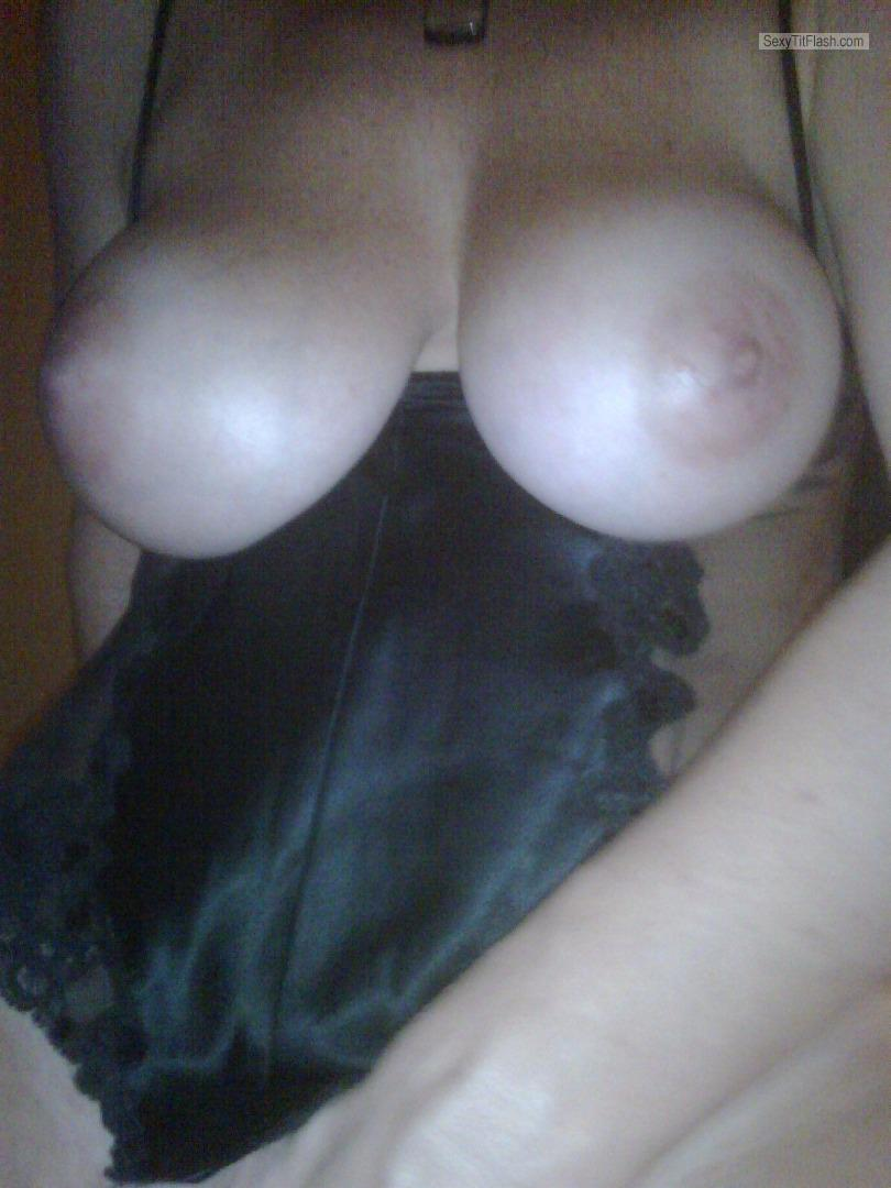 Very big Tits Of My Wife Hot Wife 34 DD Tits