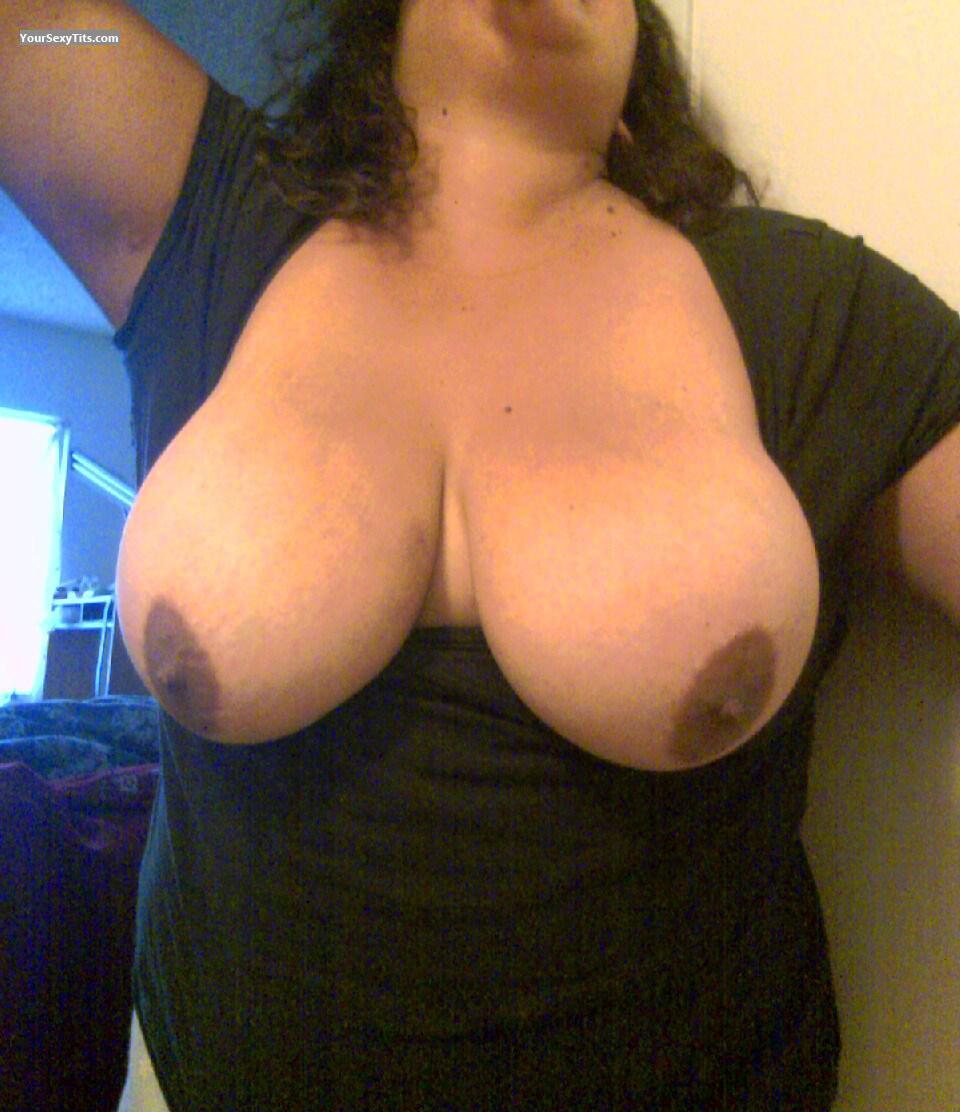 Very big Tits Of My Wife Brown Beauty