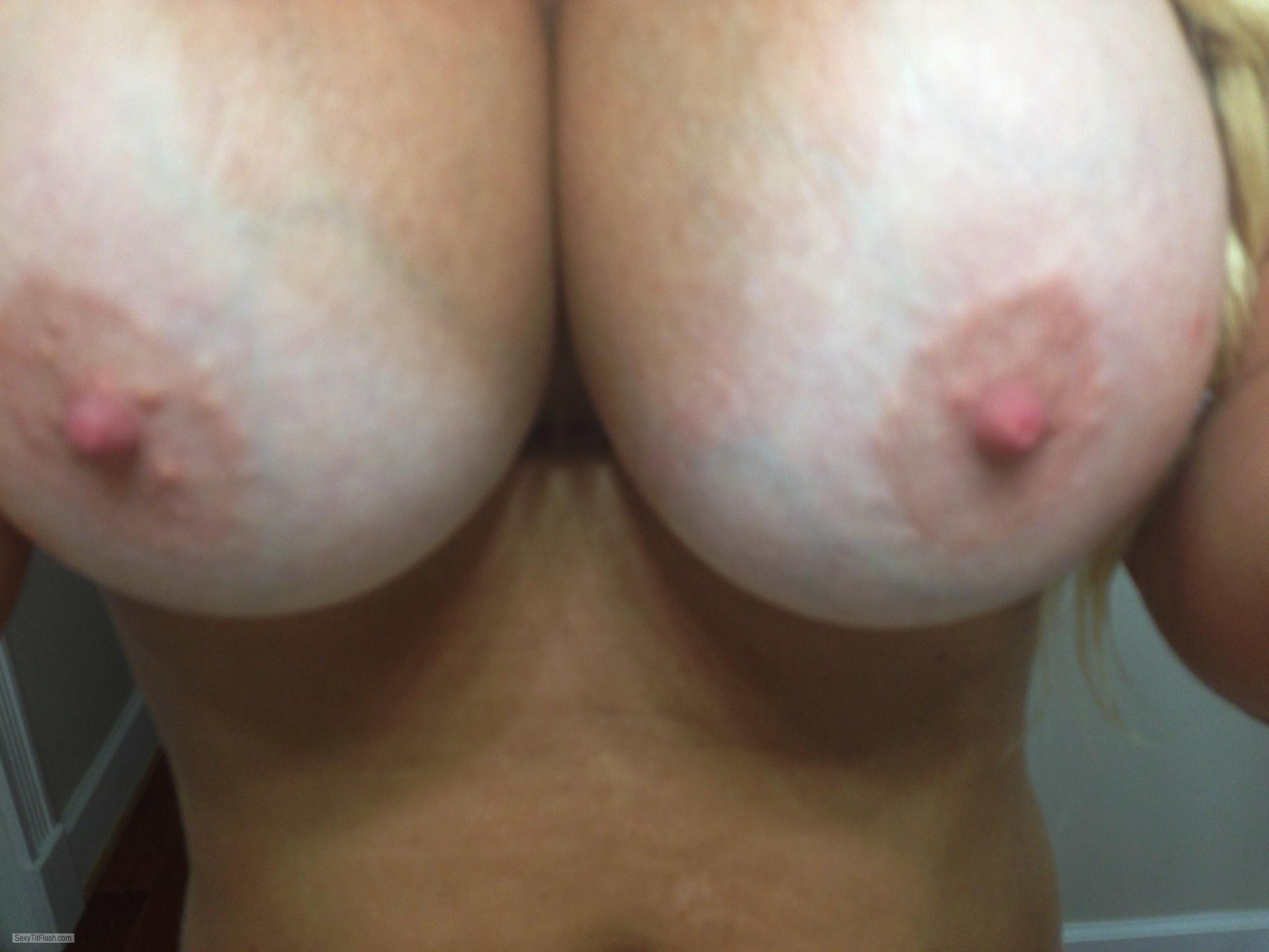 Very big Tits Of My Wife Selfie by Wifey