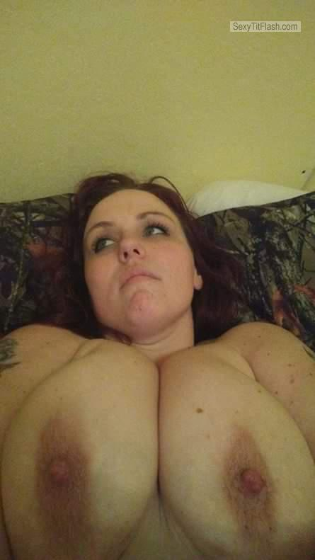 My Very big Tits Topless Selfie by Dizzy