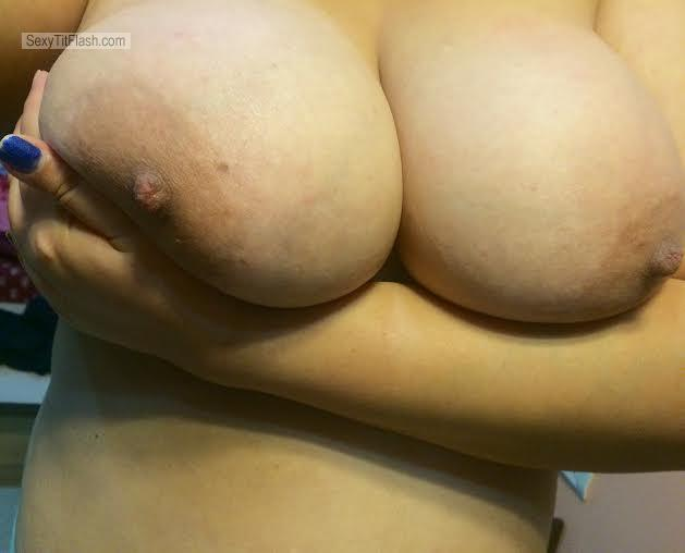Tit Flash: My Big Tits (Selfie) - BoobLove from India