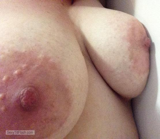 My Very big Tits Selfie by Horny Blonde
