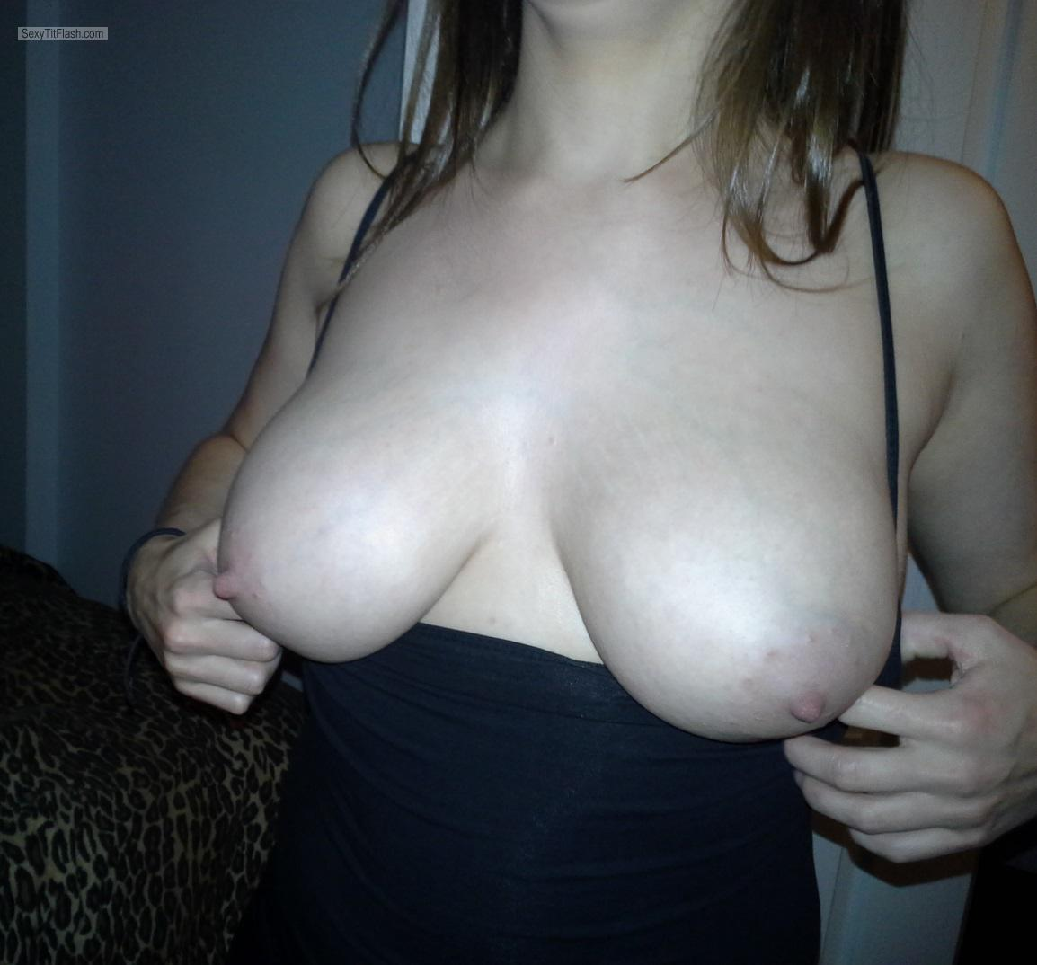 Tit Flash: My Big Tits - Ms. Busty from Canada