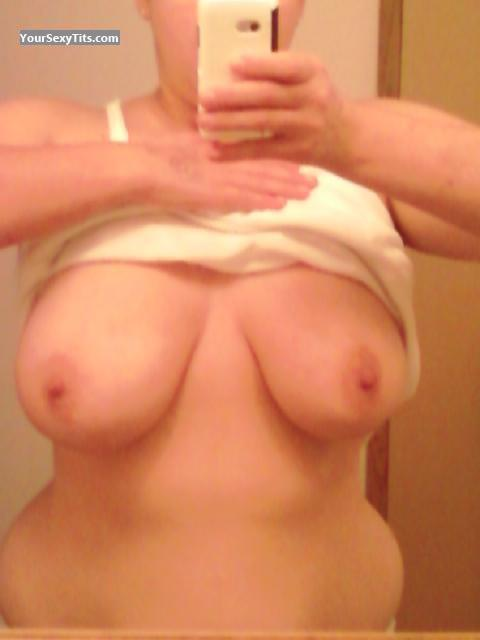 Very big Tits Of My Wife Selfie by Sara Lea
