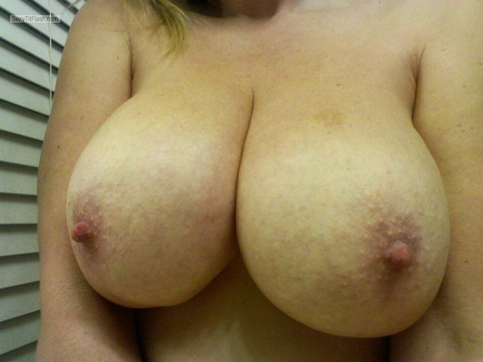 Very big Tits Of A Friend Selfie by Kitty Cat