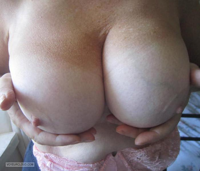Tit Flash: My Big Tits - Lilly from United Kingdom