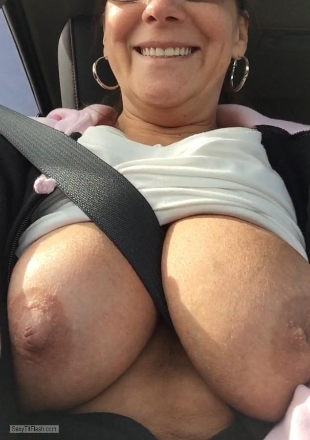 Tit Flash: My Very Big Tits - Candymartin66 from United States
