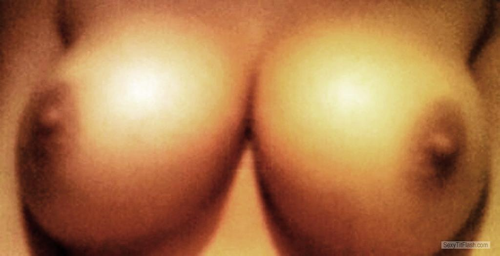 Tit Flash: My Medium Tits (Selfie) - Loveanal from United Kingdom