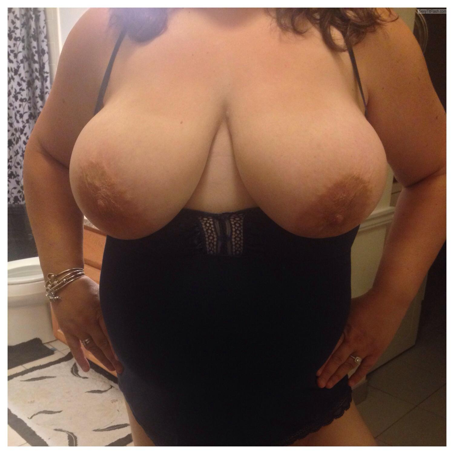 Very big Tits Of My Wife Yeahisnowboard