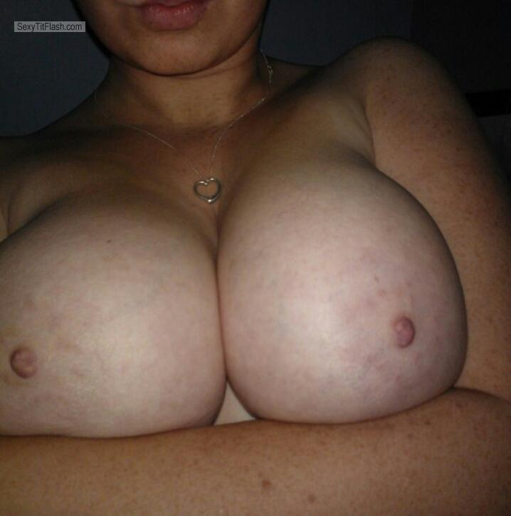 Very big Tits Of My Girlfriend Selfie by N
