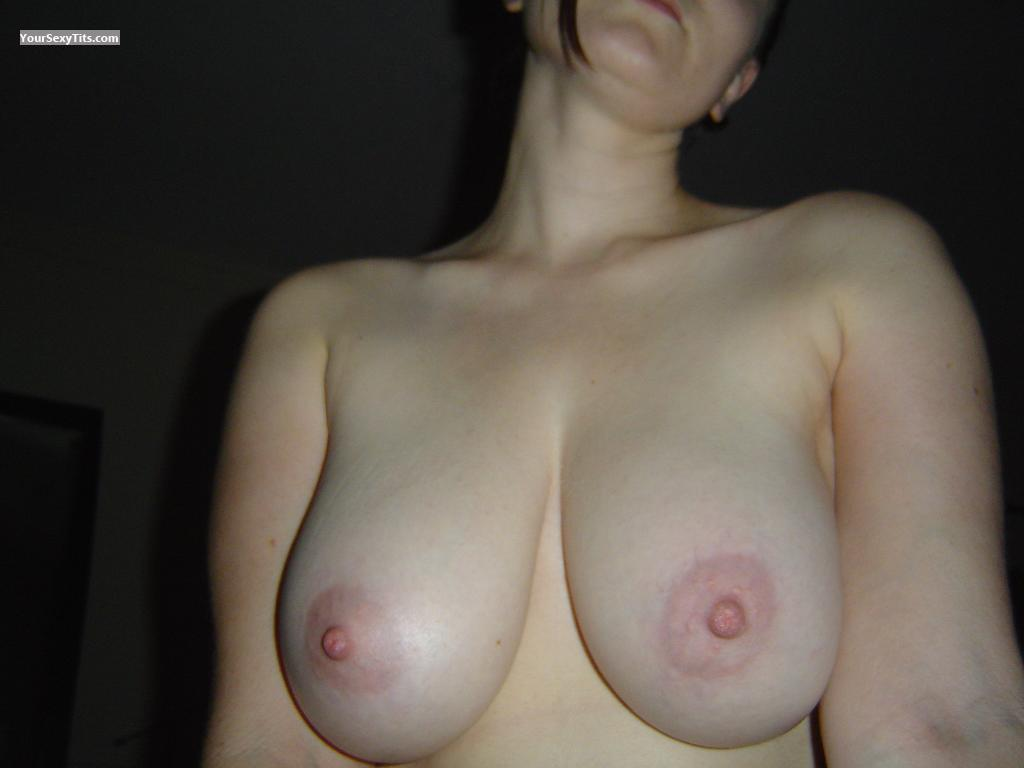 Tit Flash: Wife's Very Big Tits - Natalie from Canada