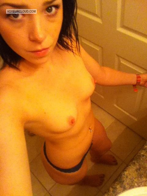 My Very small Tits Topless Selfie by Abby Richardson