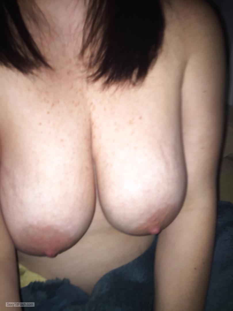 My Very small Tits Topless Saggy Tits