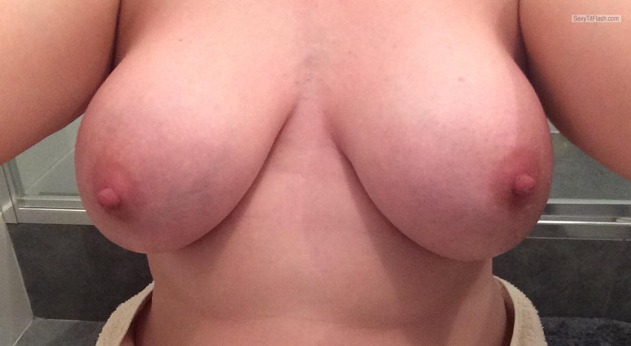 My Very small Tits Topless My Wife's Tits