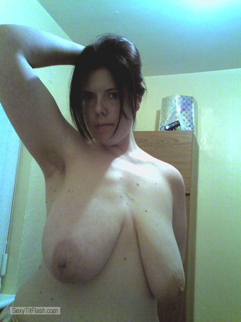 Tit Flash: My Very Small Tits - Topless Kim from South Africa