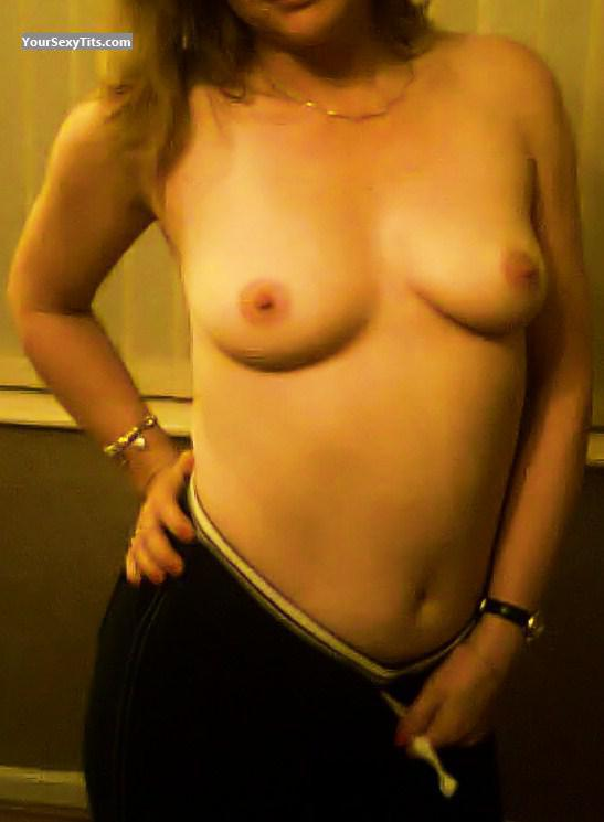 Tit Flash: My Very Small Tits (Selfie) - Milf!! from United Kingdom