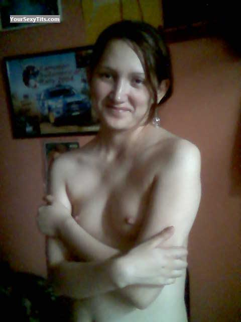 Tit Flash: My Very Small Tits - Topless Linda from Peru